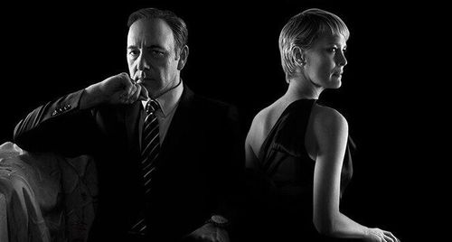 image of house of cards claire and frank underwood